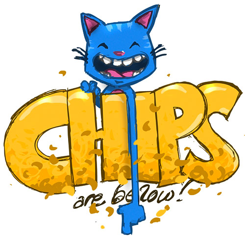 Don\'t forget to eat your chips