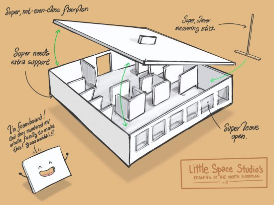 Little Space Studio Foam Concept